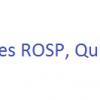 Les ROSP, Qu'est ce que c'est?