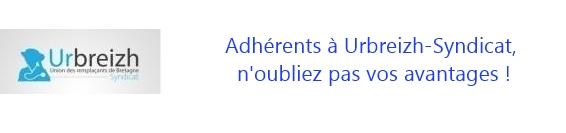 Adhérents à Urbreizh-Syndicat, n'oubliez pas vos avantages !