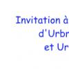 Invitation à l'Assemblée générale d'Urbreizh-Association et Urbreizh-Syndicat