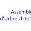 Assemblée Générale d'Urbreizh Association et Urbreizh Syndicat le 14 décembre 2016 à 20H00 dans les locaux de l'URPS Médecins libéraux  au 25 rue saint hélier à Rennes