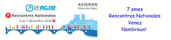 Les Rencontres Nationales de ReAGJIR : Inscrivez-vous !