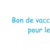 Bon de vaccination contre la grippe pour les jeunes médecins